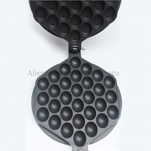 Egg Waffle Pan Egg Puffs Tool Kitchen Appliance Non-stick Eggette Waffle Iron Grill