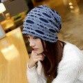 ladies bonnet femme skullies unisex autumn beanies winter warm chapeau women hat female knitted cap