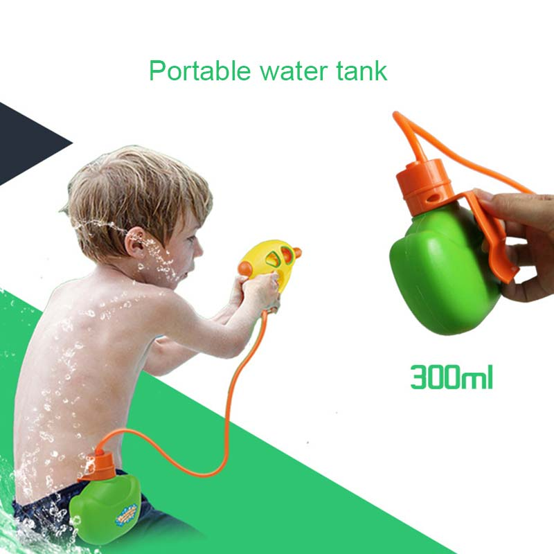 Summer Children Toys Waist Bag Squirt Water Spraying Squeeze Water Kids Swimming Pool Outdoor Game Toy Gifts M09