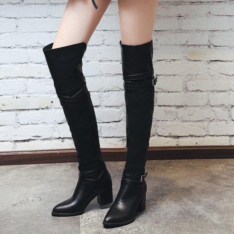 Thigh High Boots Cheap Size 11