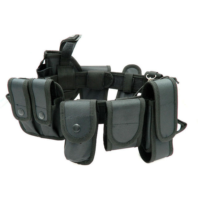 Outdoor Tactical Belt Multifunctional Security Belts Training Polices Guard Utility Heavy Duty Combat  Belts 10pcs/sets