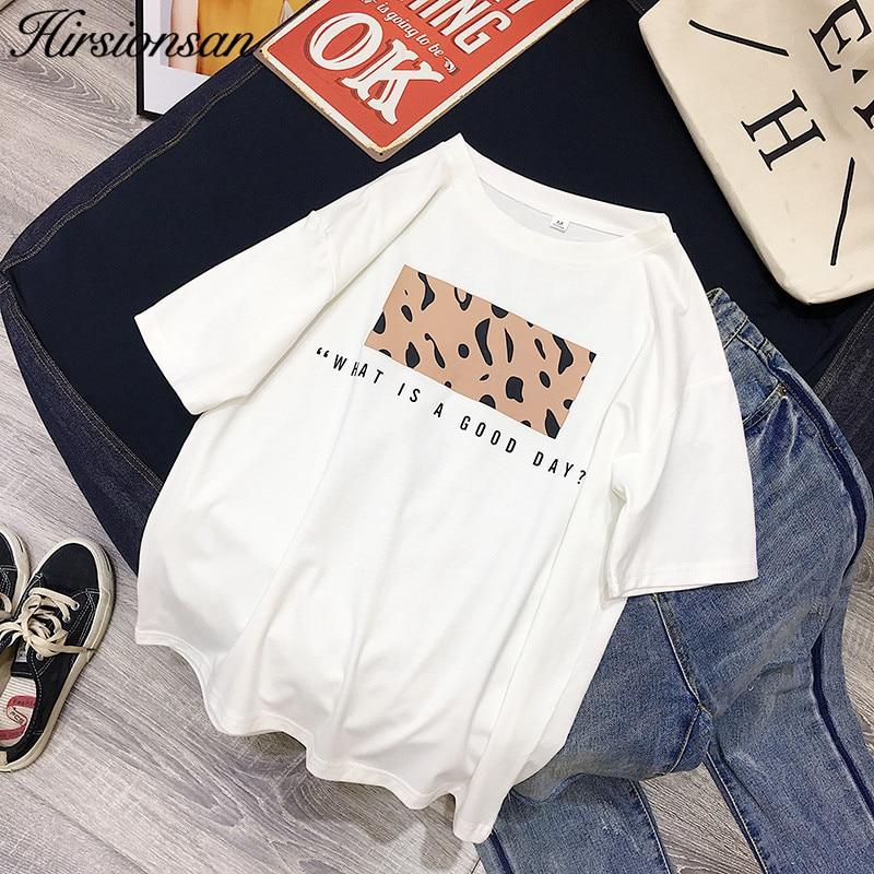 Leopard Print Women Summer Cool T-shirt Female Tops