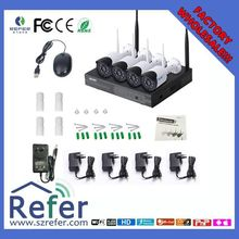 New 720P residence surveillance safety product outside and indoor evening imaginative and prescient H.264 ESCAM WNK404 NVR equipment