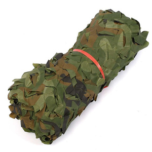 Image 2 - Military Camouflage Net Sun Shelter Woodland Army Camo Netting Hunting Camping Nets Car Covers Tent Shade 2m*4m/2m*5m/3m*5m