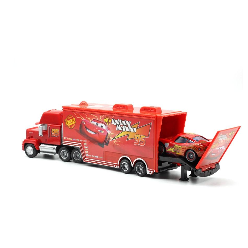 Makina Disney Pixar 2 3 No. 95. Rrufeja McQueen Mack Truck Uncle - Makina lodër për fëmije - Foto 3