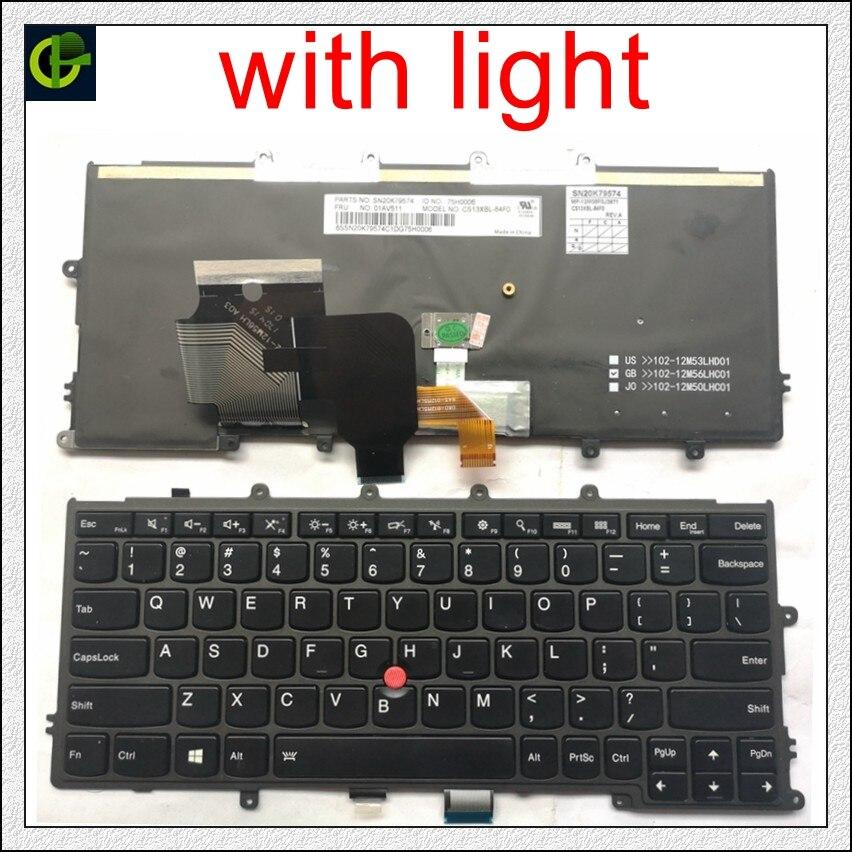 Anglais Rétro-Éclairé Clavier pour Lenovo IBM Thinkpad X230S X240 X240S X250 X260 0C44711 X240I X260S X250S X270 01EP008 01EP084