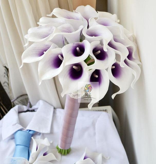 Handmade Artificial Flowers Wedding Flower Bride Bridesmaid Bouquet ...