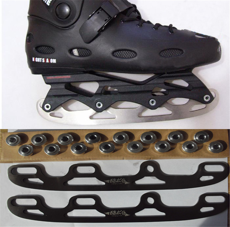 Ice Blade Ice Skating Blade For Inline Shoes Roller Skates Diy