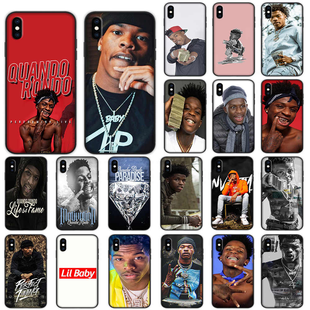 Lil Baby Pagina Rondo Lembut Case untuk iPhone X 11 Pro Max XR X 7 8 6 6S PLUS cover