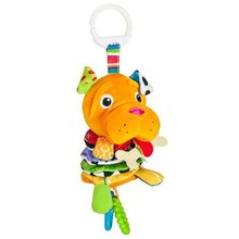 Baby Newborn Gift Bed Hanging Dog Plush Rattle Teether Educational Toys