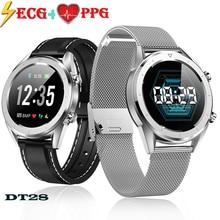 Timethinker DT28 Smart Watch Men ECG+PPG Smartwatch Women Fitness Tracker Blood Pressure Heart Rate Monitor Relogio PK E07 E08