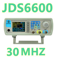By Dhl Fedex 5pcs JDS6600 25MHZ Signal Generator 2 Channel DDS Function Arbitrary Sine Waveform Frequency
