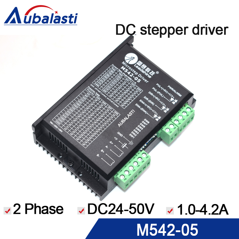 leadshine 2phase stepper Drive 42 57 stepper motor reser M542-05 drive input voltage dc20-50v name it футболка для девочки name it