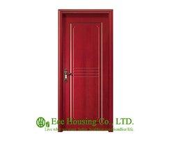40mm grubość drewna drzwi fornirowane do mieszkania  typu Swing drzwi  otwierane do wewnątrz i na zewnątrz drzwi  MDF drewniane drzwi