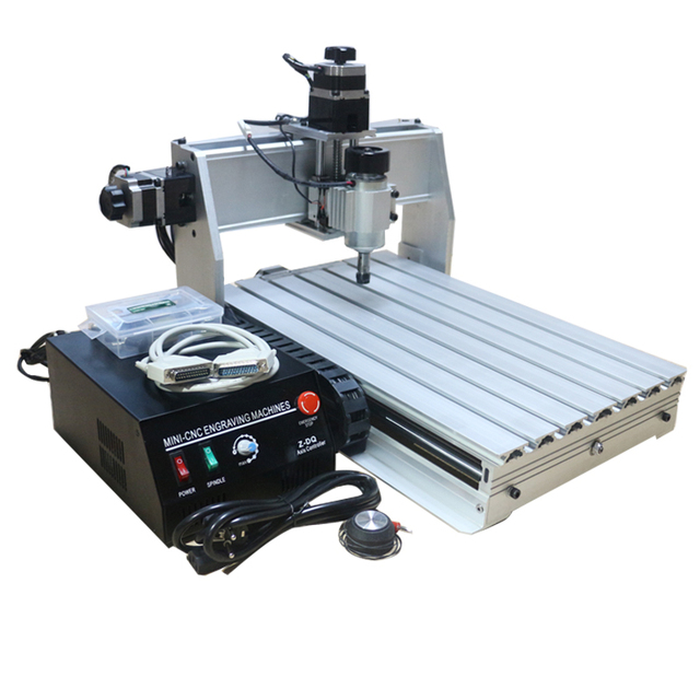 Mini CNC Milling Machine Router CNC 3040 500W Z-DQ 3 AXIS 220V 230W With Ball Screw