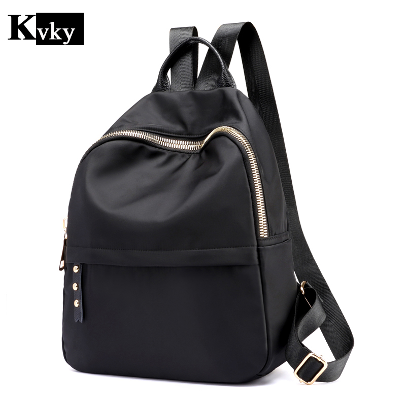 2a513e19adf Best buy 2018 Fashion Backpack Women Nylon School Bags for Teenage Girls  Practical Functional Travel Bag Casual Female Backpack online cheap