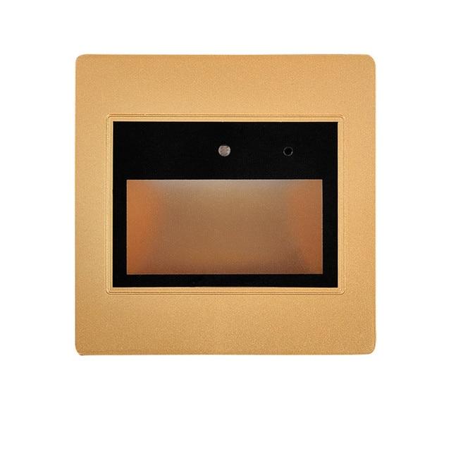 (5pcs/lot) 0.6W Voice+Light Sensor Controller 95 Type Recessed LED