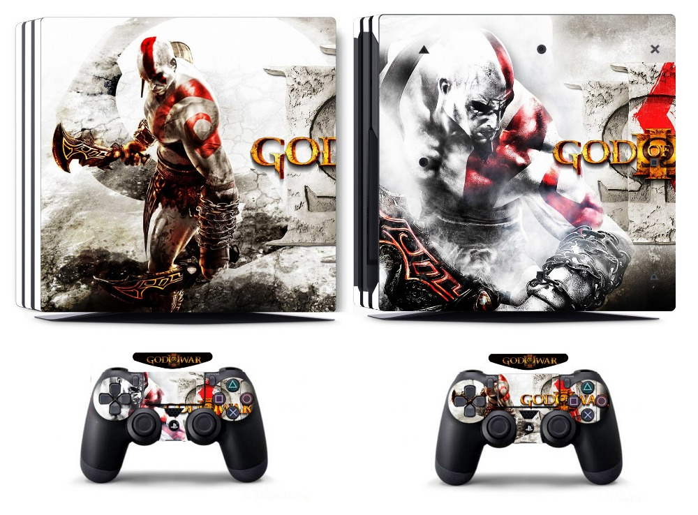Video Games & Consoles Faceplates, Decals & Stickers Gow 210 Vinyl Decal Cover Skin Sticker For Xbox360 Slim And 2 Controller Skins Punctual Timing