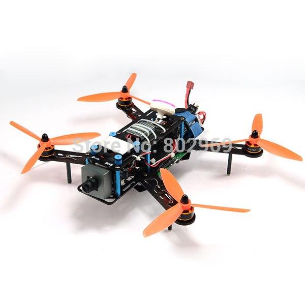 Мини Quadcopter для cc3d FPV-системы фотографии qav250 стекловолокна Рамки комплект 250 мм Колесная база