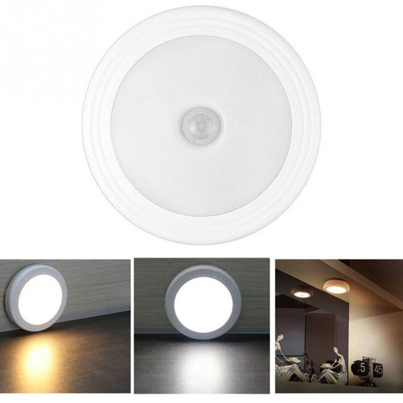 Lighting Basement Washroom Stairs: LED Wireless PIR Auto Motion Sensor Infrared Night Light