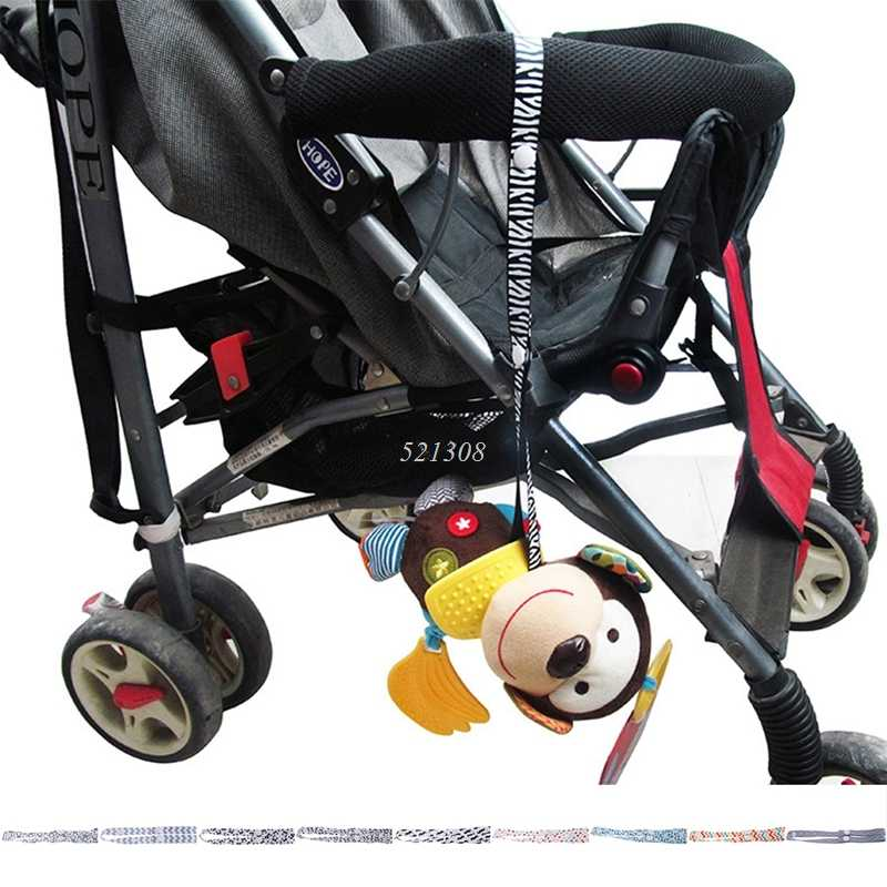 Baby Stroller Fixed Toys Rope No Drop Bottle Cup Holder Strap For Chair Car Seat MAY16_35