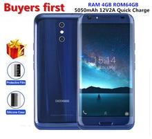 Doogee bl5000 смартфон Dual 13.0mp Cam Android 7.0 5050 мАч 12V2A Quick Charge 5.5 «mtk6750t Octa core 4 ГБ + 64 ГБ мобильного телефона