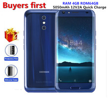 DOOGEE BL5000 smartphone Dual 13.0MP Cam Android 7.0 5050mAh 12V2A Quick Charge 5.5″ MTK6750T Octa Core 4GB+64GB mobile phone