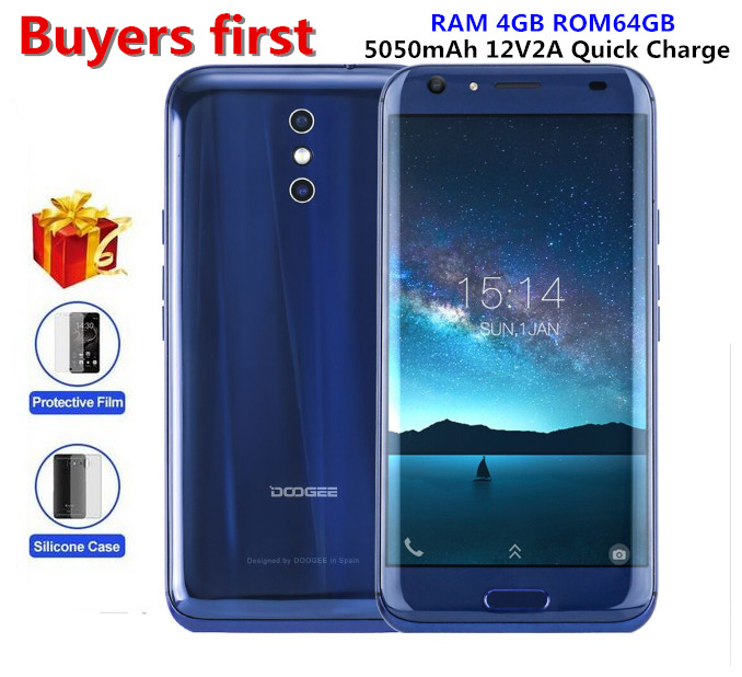 DOOGEE BL5000 smartphone Dual 13 0MP Cam Android 7 0 5050mAh 12V2A Quick Charge 5 5