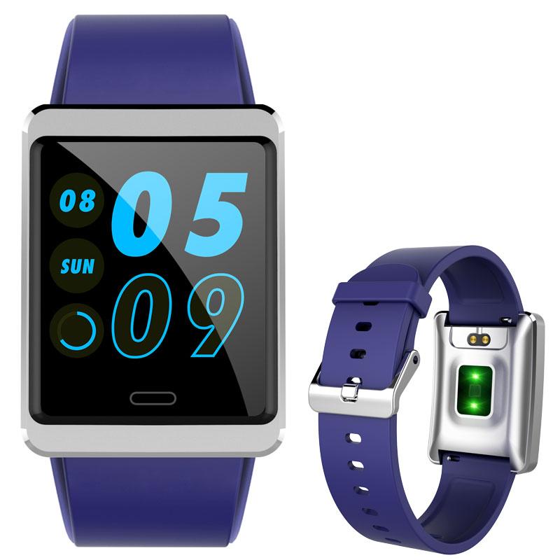 2019 New Color Screen Intelligent Relogio Couple Sports Watch Waterproof Smart Watch Men Women Watches Heart Rate Blood Pressure