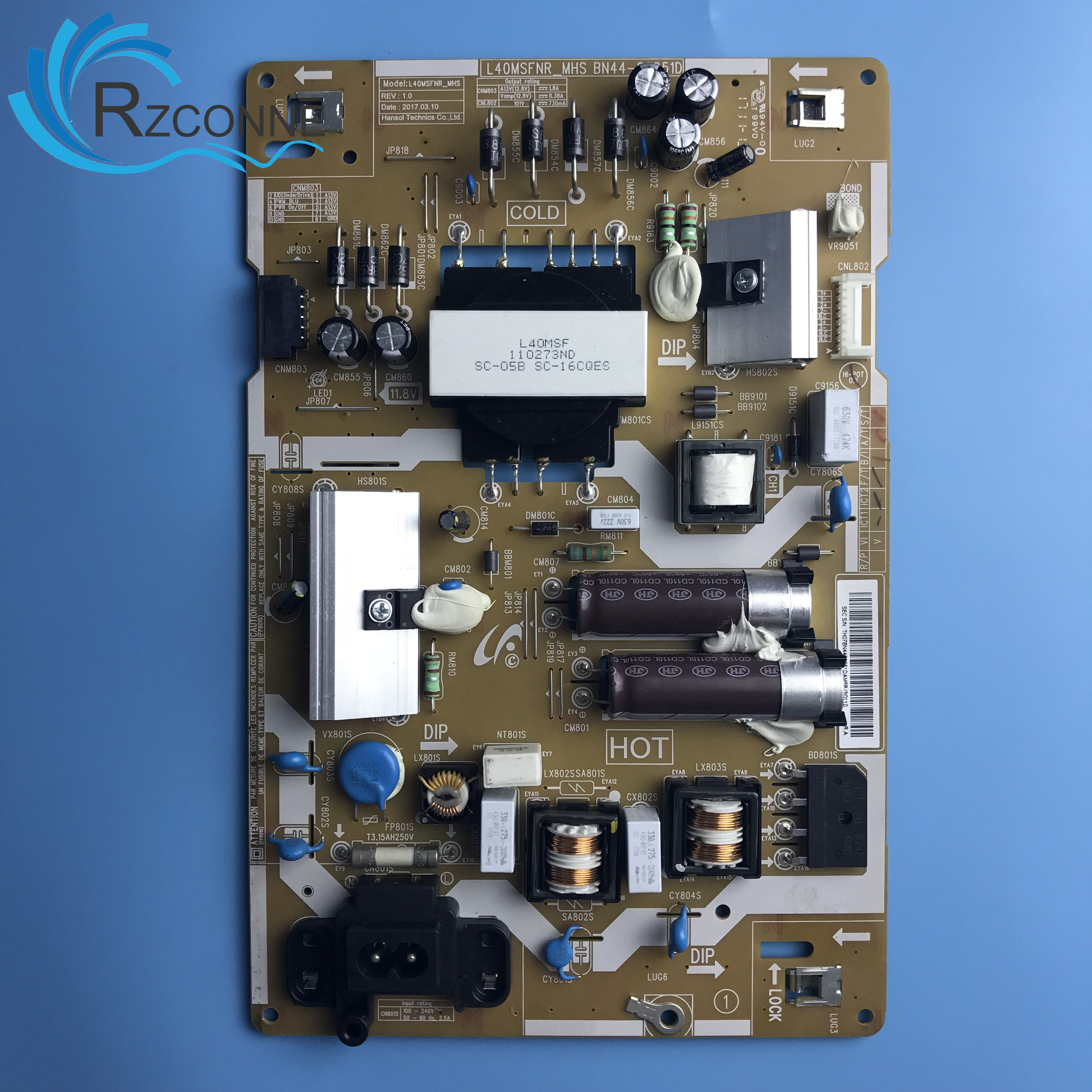 Power Board Card Supply BN44-00851D L40MSFR_MHS For 40 Inch Samsung LCD TV
