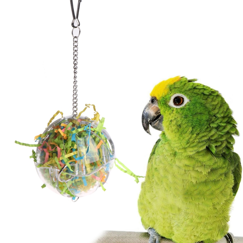 2018 NEW Pet Parrot Toys Ball Strings Bird Parakeet Chew Hanging Cage Parakeet Hammock Colorful Budgie perch swing Toy in Bird Toys from Home Garden