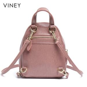 Image 4 - Shoulder Bag Female 2019 New Genuine Leather Fashion Baitao Leisure Korean Backpack Simple Soft Leather Shoulder Bag