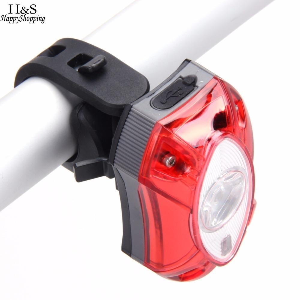 Wiederaufladbare USB Heißer Hinten Schwanz Licht Lampe Rücklicht Raypal Regen Wasserdichte Helle LED Sicherheit Radfahren Fahrrad Licht