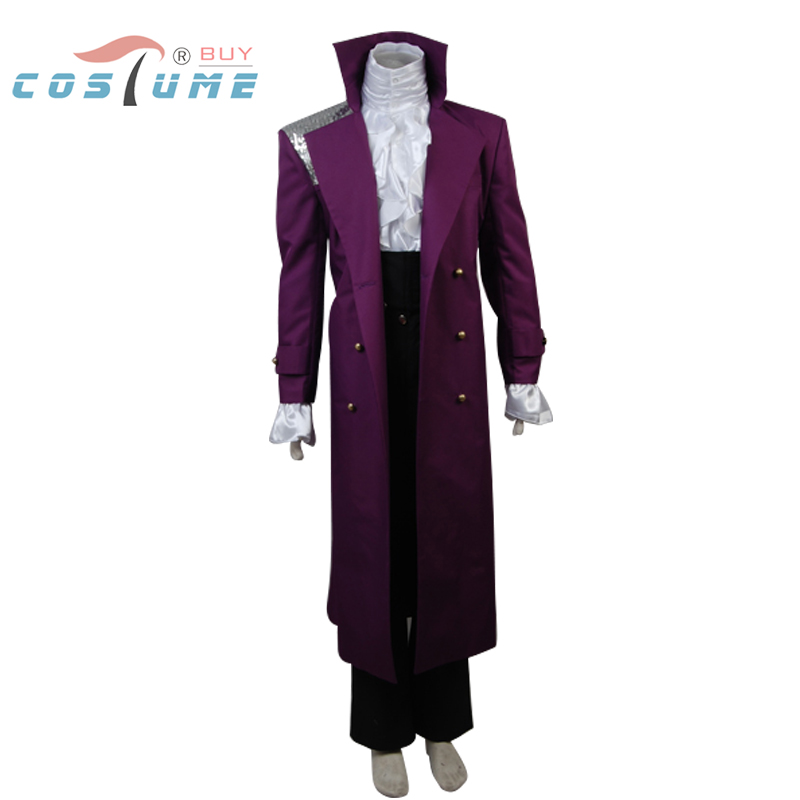 Prince Purple Rain Cosplay Costume Whole Set Halloween Set 1