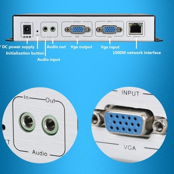 H.264 VGA IPTV Encoder VGA VIDEO ENCODER Support RTMP and Onvif