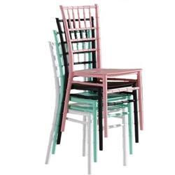 Casamento chiavari cadeira de jantar do hotel cadeira do banquete de plástico castelo