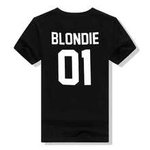 Blondie and Brownie Printed Friends Matching Women's T-Shirt