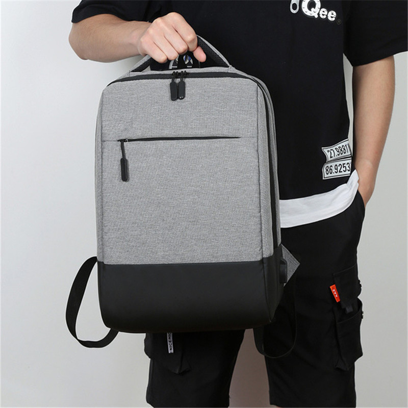 Business Men's Backpack Fashion Female Student Bag Large Capacity Computer Travel Sports Bag High School Students Casual Bag