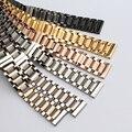 Substituição Pulseira straps 18 19 20mm 21mm 22mm Fina ligação Relógio de Aço Inoxidável sólido pulseira Acessórios Para relógios de quartzo
