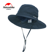 Men Woman Outdoor Sunscreen Fishing Hat Wide Brim UV Protection Summer Safari Booine Hats Sun Cap for Hunting Hiking Camping(China)