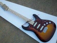 China oem gitarre, custom gitarre, kanadische Ahorn Hals, Qualität der erste hardware, farbe können, das Logo kann angepasst werden