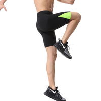 Mens Compression Tights Base Layer Sports Running Outdoor Soccer Football Gym Shorts Men Sports Fitness Shorts