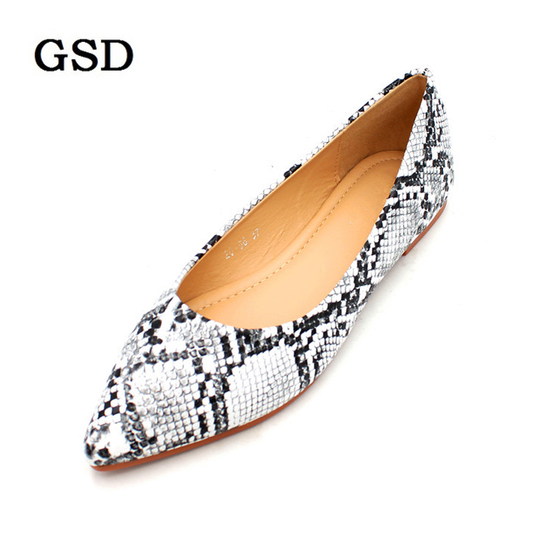 New Arrival Spring /Autumn Womens Loafers Women Flat Heel Shoes Snake Print Slip-On Pointed Toe Causal Shoe Flats Zapatos MujerNew Arrival Spring /Autumn Womens Loafers Women Flat Heel Shoes Snake Print Slip-On Pointed Toe Causal Shoe Flats Zapatos Mujer