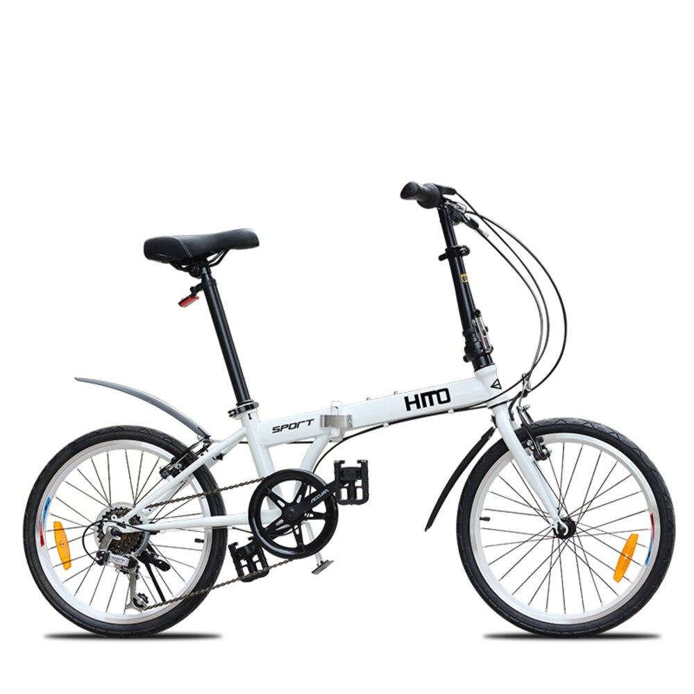 LOVELION 20 pouces roue en acier au carbone cadre 6 vitesses pliant VTT en plein air Sport descente Bicicleta Bmx vtt vélo