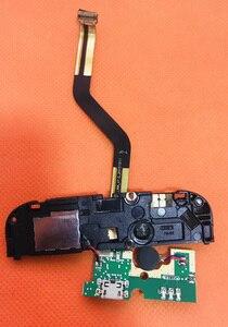Image 2 - Б/у оригинальная зарядная плата с USB разъемом + микрофон + Громкий динамик для UMI Rome X MTK6580 5,5 дюйма 1280x720 HD четырехъядерный Бесплатная доставка