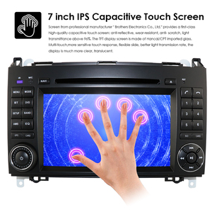 Image 5 - Ossuret Car In Dash DVD Player For Mercedes Benz W169 A150/A160/A170/A180/A200 W245 B160/B170/B180/B200 W639 Vito/Viano GPS Navi