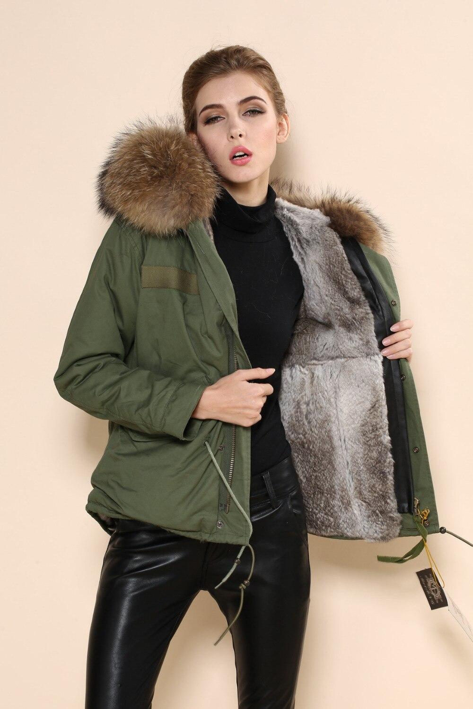 2015 nuevo estilo mujeres y hombres nombre marca de alta calidad Mr furs venta verde piel Collar tela Trench - 2