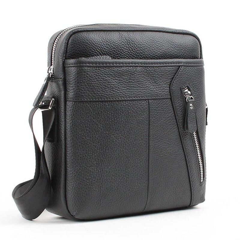 2015 Hot New Genuine leather messenger bags for men travel men's crossbody shoulder bags male cowhide man handbags man messenger bags 2015 leather messenger bags