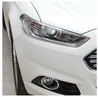 Abs Chrome Koplamp Head Light Lamp Cover Trim Voor Ford Fusion 2013 2014