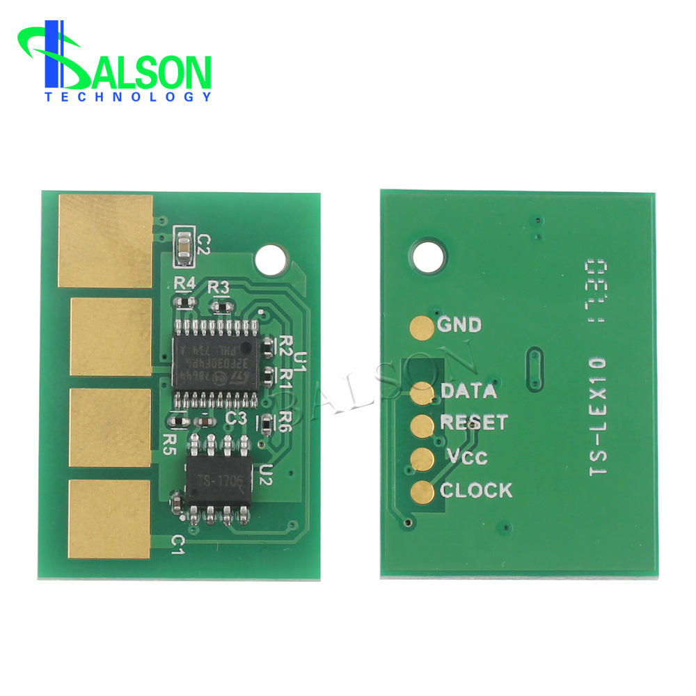E460X11A/E460X21A High Capacity Original Reset Chip For Lexmark E460 Toner Chips 15000 Pages Made In China